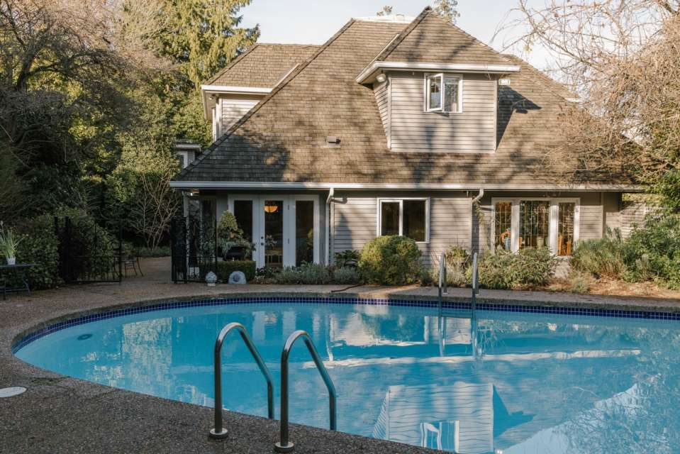 Furnished Shaughnessy Home with Pool