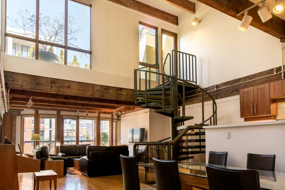 Heritage Loft Penthouse with Private Rooftop Deck